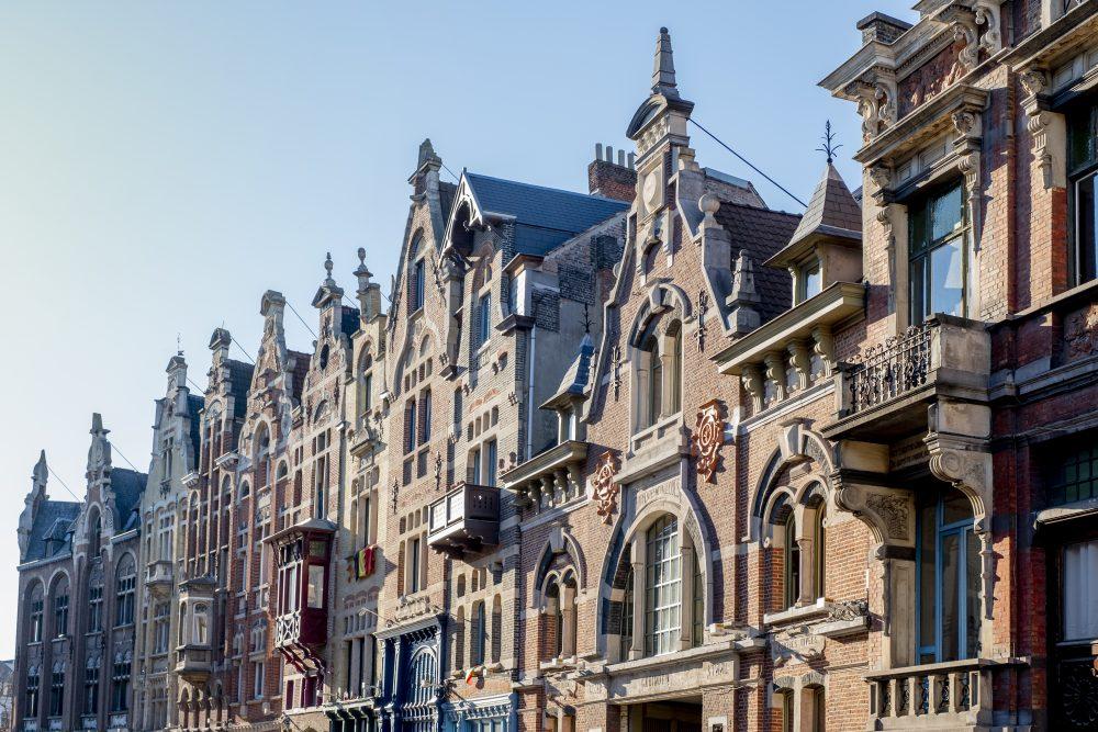 Plazas de Vrijdagmarkt - Gante