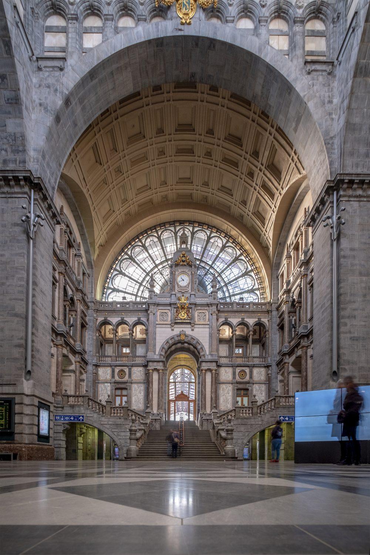 Estación central de Antwerpen