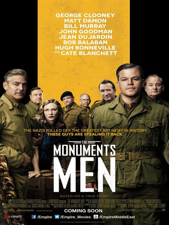 The monuments men - poster